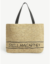 Stella McCartney Raffia tote bag
