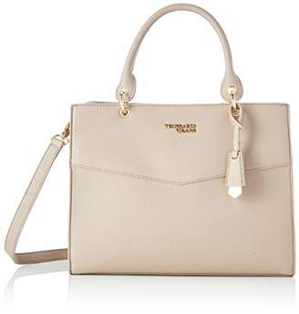 Trussardi Jeans Charlotte Top Handle Md mble Women's Top-Handle Bag, (W x H x L)