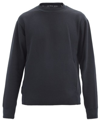 Goldwin Crew-neck Jersey Sweatshirt - Black