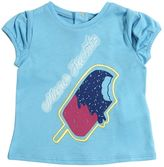 Little Marc Jacobs Ice Cream Cotton Blend Jersey T-Shirt