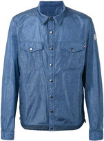 Moncler denim effect shirt jacket - men - Cotton/Polyimide - 4