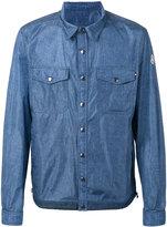 Moncler denim effect shirt jacket - men - Cotton/Polyimide - 5