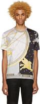 Versace Grey Silk Space T-Shirt