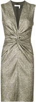Lanvin ruched mini dress - women - Silk/Polyester/Spandex/Elastane - 38