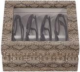 OYOBox Exotic-Print Faux Leather Mini Eyewear Organizer Case