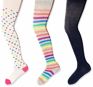 Spotted Zebra Kids' 3-Pack Cotton Tights