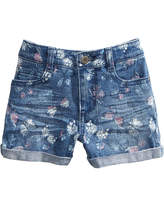 Epic Threads Butterfly-Print Denim Shorts, Big Girls, Created for Macy's