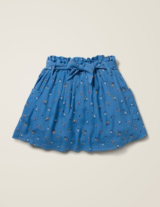 Boden Tie-Waist Pocket Skirt