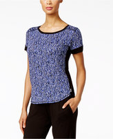 DKNY Short-Sleeve Printed Pajama Top