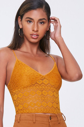 Forever 21 Medallion Lace Cami