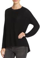 Eileen Fisher Petites High Low Merino Wool Sweater