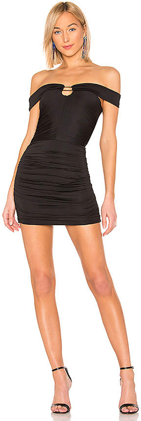 by the way. Lenny Off Shoulder Mini Dress