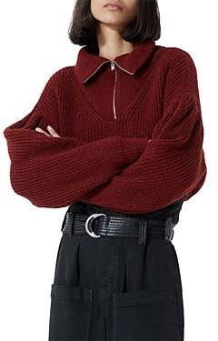 The Kooples Half Zip Sweater