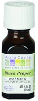 Aura Cacia Black Pepper Essential Oil, 0.5 Fluid Ounce