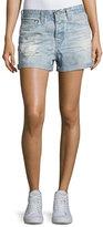 AG Jeans The Alex Vintage Boyfriend Denim Shorts, Indigo
