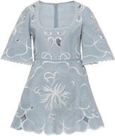 Alice McCall Dissolving Hearts Linen Mini Dress