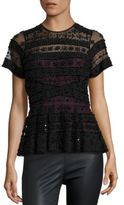 Parker Shannon Beaded Top