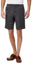 Maine New England Big And Tall Dark Grey Chino Shorts