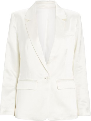 Intermix Catalina Satin Blazer
