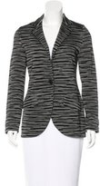 M Missoni Wool-Blend Knit Blazer