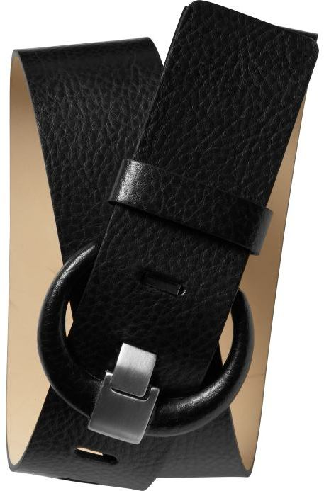 Banana Republic Italian covered buckle belt