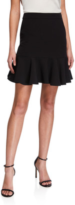Milly Alanna Mini Cady Skirt