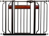 Regalo Home Accents Walk-Through Gate in Black