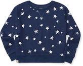 Ralph Lauren 7-16 Star-Print Boxy Sweatshirt