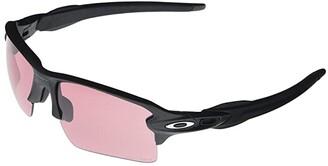 Oakley Flak 2.0 XL (Steel/Prizm Dark Golf) Fashion Sunglasses
