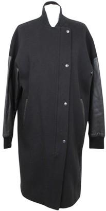 Mackage Black Wool Coat for Women
