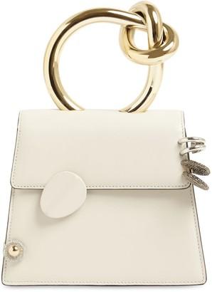 Benedetta Bruzziches Brigitta Small Leather Top Handle Bag