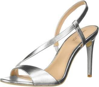 Rachel Zoe Women's Nina Heeled Sandal Light Gold 11 M US
