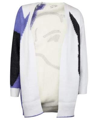 Silvian Heach Didouche Sequin Lady Cardigan Colour: CREAM, Size: XS