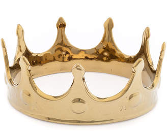 Seletti Limited Gold Edition Porcelain My Crown