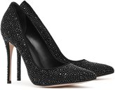 Reiss Marilyn - Crystal-embellished Shoes in Black, Womens