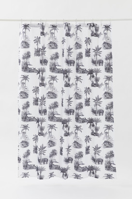 H&M Printed shower curtain