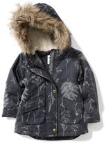 Old Navy Faux-Fur Parka for Toddler