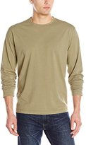 Mod-o-doc Men's Long Sleeve Sueded Jersey Crew-Neck T-Shirt
