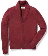 Original Penguin Shawl Collar Donegal Jersey Cardigan Sweater