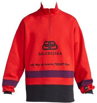 Balenciaga Logo Ski Sweater