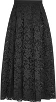 Maje Lace maxi skirt