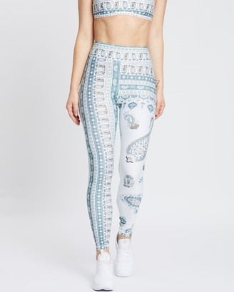 The Upside Fortune Paisley Yoga Pants