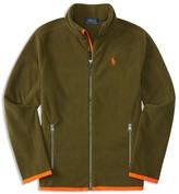 Ralph Lauren Boys' Micro Fleece Jacket - Sizes S-XL