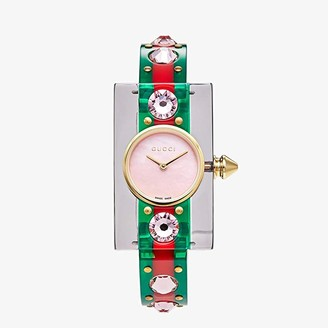 Gucci Vintage Web - YA143525 (Green/Red) Watches