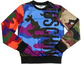 Moschino Camouflage Printed Sweatshirt