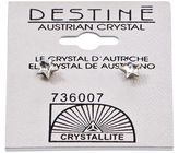 Crystallite Destine Star Earrings 5mm