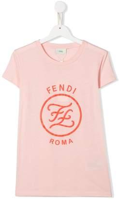 Fendi TEEN logo print T-shirt