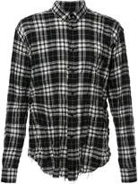Saint Laurent signature oversized Yves collar shirt
