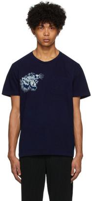 Blue Blue Japan Blue Okura Tiger T-Shirt
