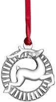 Orrefors Reindeer Christmas Ornament